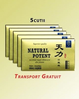 Pachet Promotional Natural Potent 6 fiole